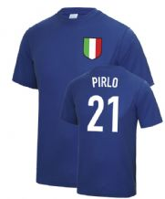 Andrea Pirlo Italy World Cup Football T Shirt